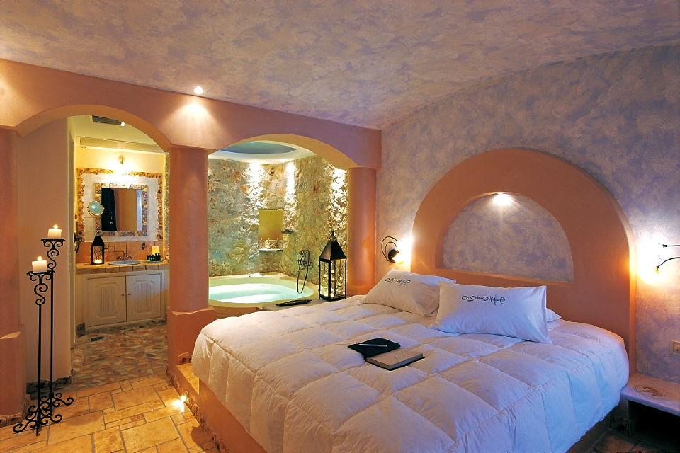 1_Junior_suite_private_couples_Jacuzzi_sea_volcano_caldera_views_Astarte_Suites_Hotel_Santorini_island