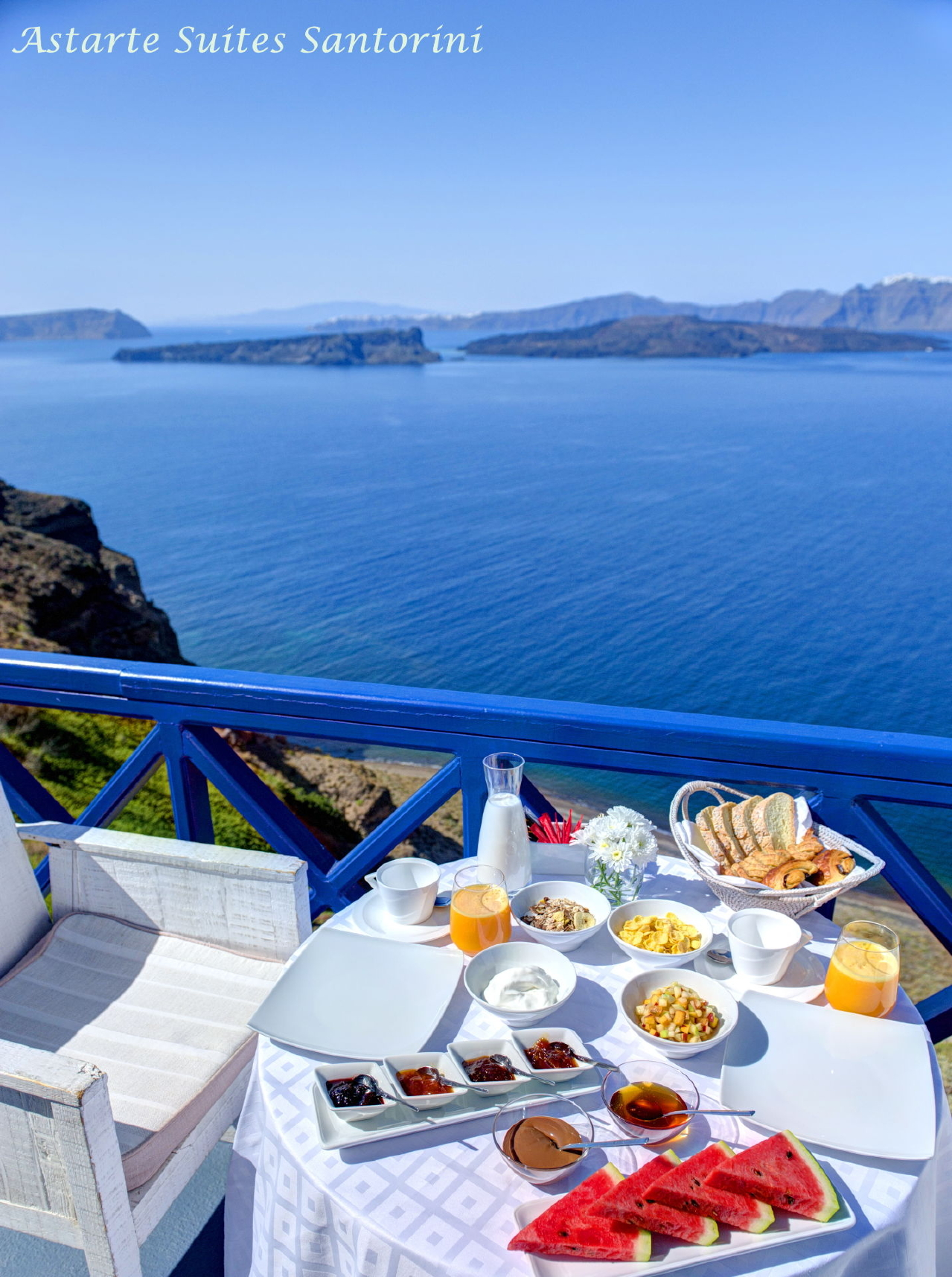 Junior Suite | Astarte Luxury Santorini Suites