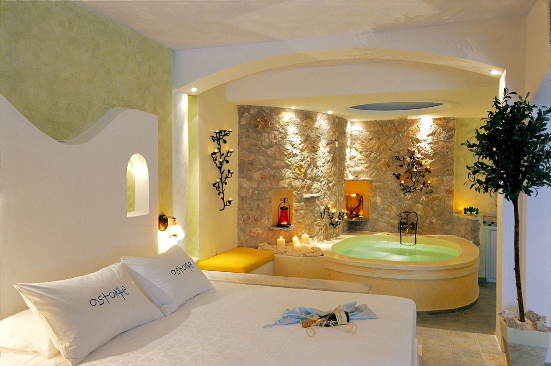 1_Honeymoon_suite_private_couples_Jacuzzi_sea_volcano_caldera_views_Astarte_Suites_Santorini_island
