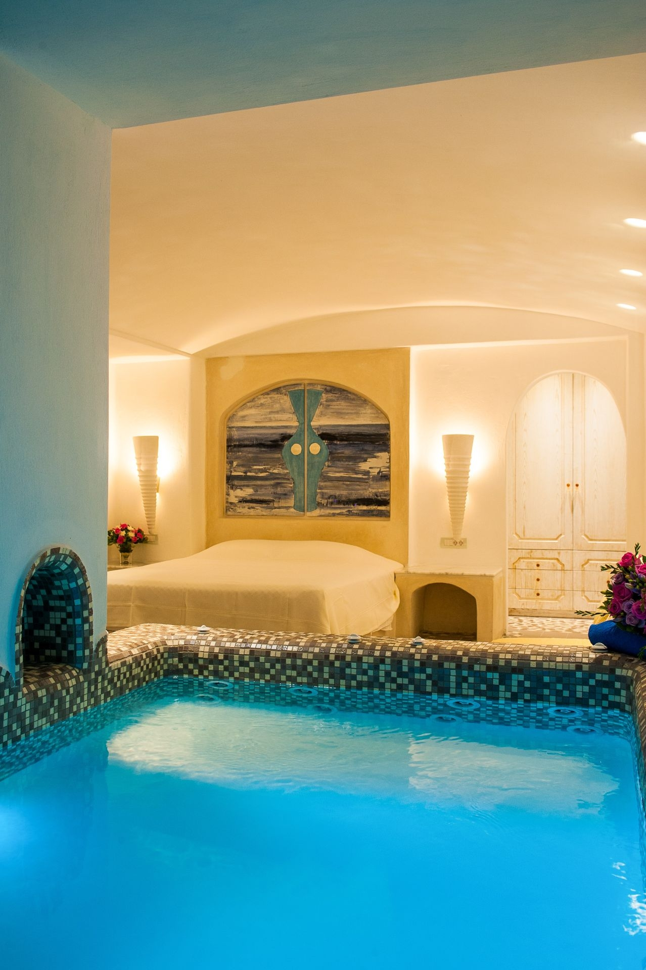 Luxury Suites With Private Infinity Pool In Santorini Astarte Suites - Rooms with pools